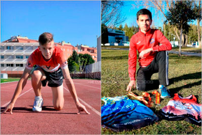 Manuel Caballero y Pablo Pastor, nominados a mejor atleta junior regional