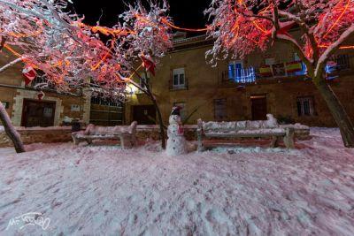 Alerta roja por nevadas este sábado en la Mancha y Alcarria