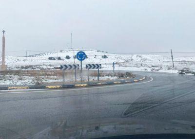 Castilla-La Mancha supera las 4.500 toneladas de sal esparcidas en la Red Regional de Carretera