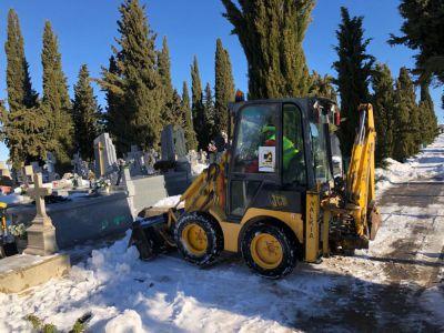 El Ayuntamiento revisa las instalaciones del cementerio para su reapertura