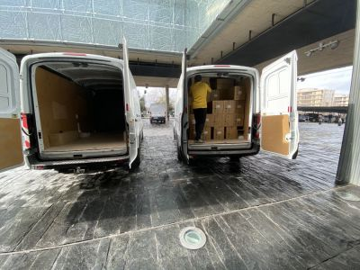 La Junta supera los 39 millones de artículos de protección enviados a los centros sanitarios