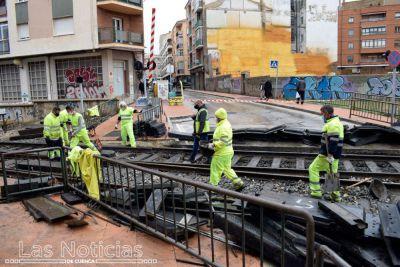 Los vecinos de Casablanca aplauden las obras de arreglo del paso a nivel
