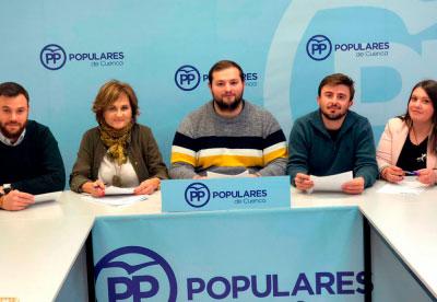 Daniel García, candidato a presidir Nuevas Generaciones Serranía de Cuenca