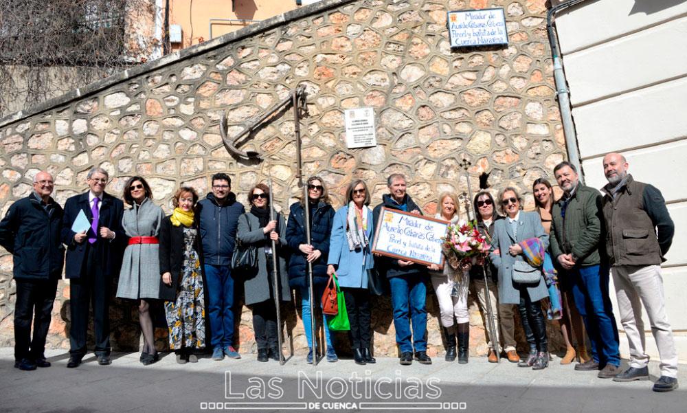 """Cuenca homenajea a Aurelio Cabañas, """"pincel y batuta de la Cuenca Nazarena"""""""