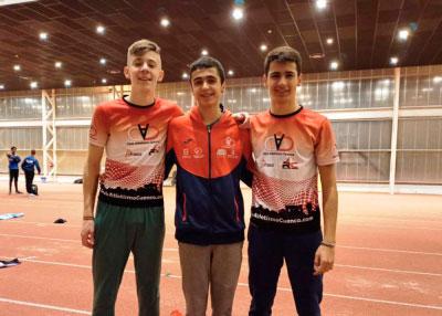 Presencia conquense en pista cubierta con opciones al Campeonato de España