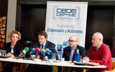 CEOE-Cepyme negocia el asentamiento de tres empresas en la provincia