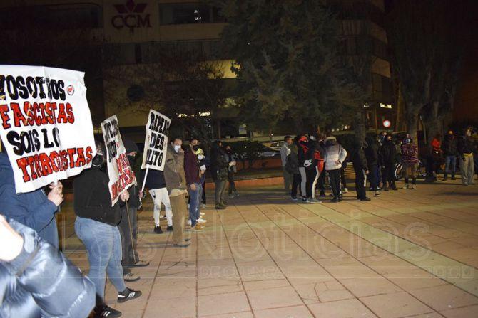 Nueva concentración en Cuenca en apoyo del rapero Pablo Hasel