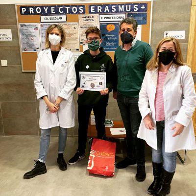 Unidos por la mitología, nuevo proyecto Erasmus+ del 'Alfonso VIII'