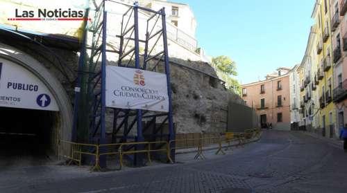 Las obras del muro de Alfonso VIII tendrán que esperar a después de Semana Santa