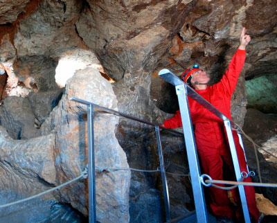 Reabre al público la mina romana La Condenada en Osa de la Vega
