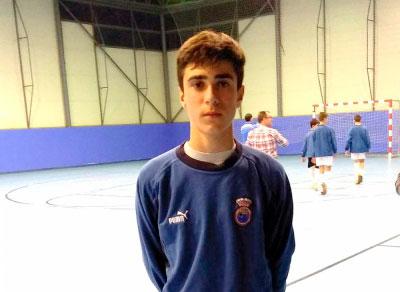 El conquense Alejandro Vergaz disputará el CNSA de Fútbol Sala Infantil