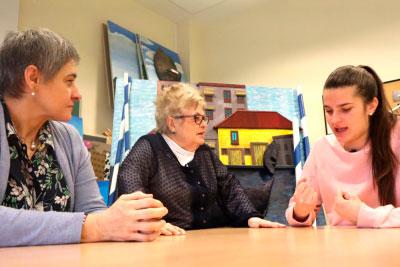 Tres generaciones de maestras