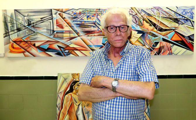 Fallece el pintor samaritano Rafa Villa