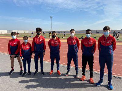 Mesfin Escamilla pulveriza su marca en los 3.000 metros lisos