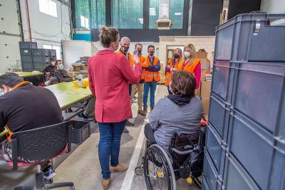 La Junta estudia nuevos proyectos para personas con discapacidad en la provincia