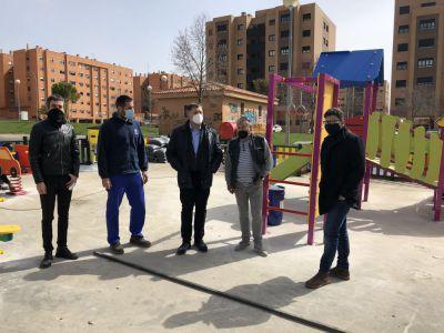 En marcha la renovación de más de una decena de áreas infantiles