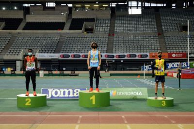 Mesfin Escamilla se alza con la medalla de plata en el Sub-18 de Pista Cubierta