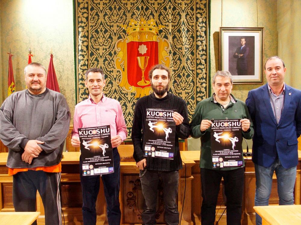 Cuenca acoge este sábado el XXIX Campeonato Nacional de Kuo Shu
