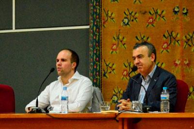 Lorenzo Silva adelanta el primer párrafo de su nueva obra en el Encuentro de Novela Criminal