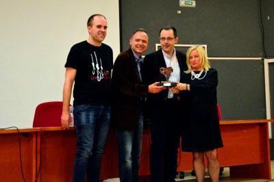 La entrega del Tormo Negro-Masfarné a Vicente Garrido y Nieves Abarca cierra el festival de novela criminal