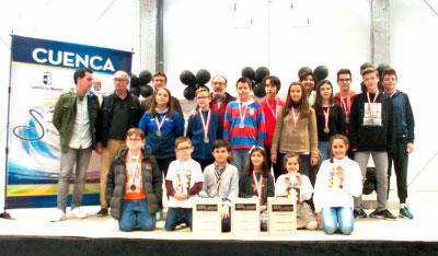 El Campeonato Provincial de Ajedrez en Edad Escolar reúne a 70 jóvenes en El Provencio
