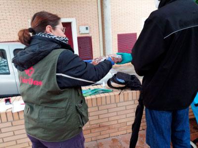 La solidaridad no cierra en Cáritas
