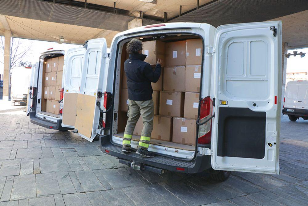Repartidos más de medio millón de artículos de protección en dos semanas