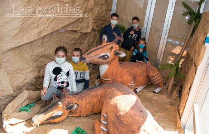 Una exposición y un curso para docentes, nuevos retos del Jurassic Paz