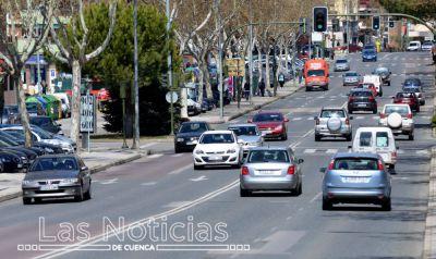 Las matriculaciones caen en la provincia de Cuenca un 22,8% en el primer trimestre del año