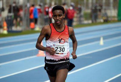 Mesfin Escamilla, al asalto de una nueva medalla nacional en los 5.000 metros