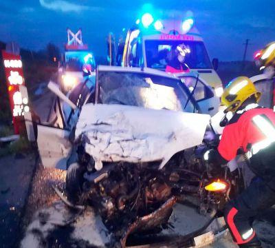 Dos heridos en un accidente de tráfico en la N-320 en el término de Chillarón