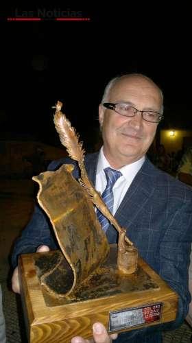 Miguel Romero pregonó las fiestas de la Fuente del Oro