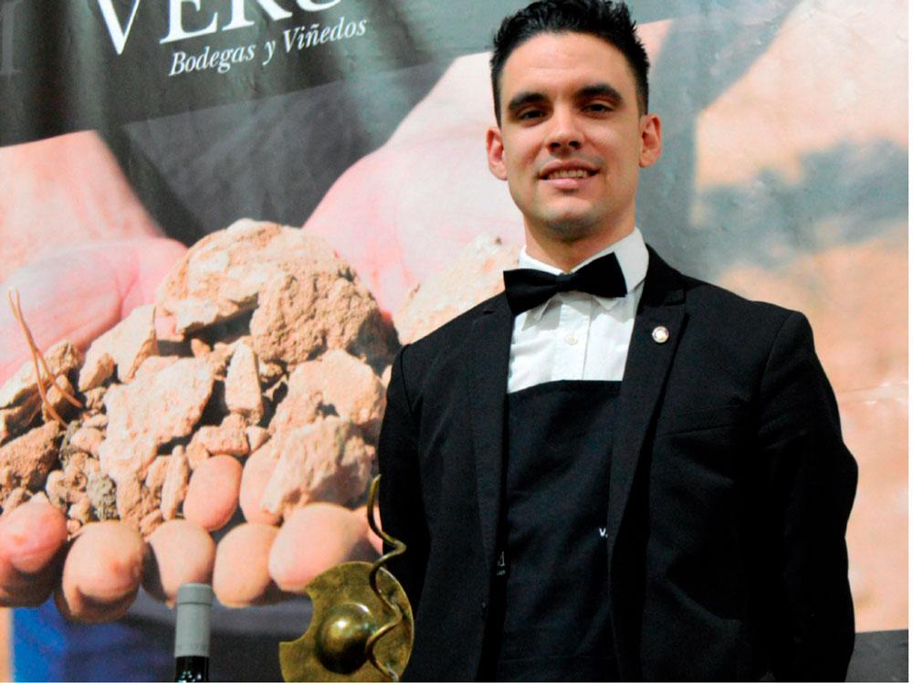 El pedroñero Valentín Checa, tercero en el Campeonato de España de Sumilleres