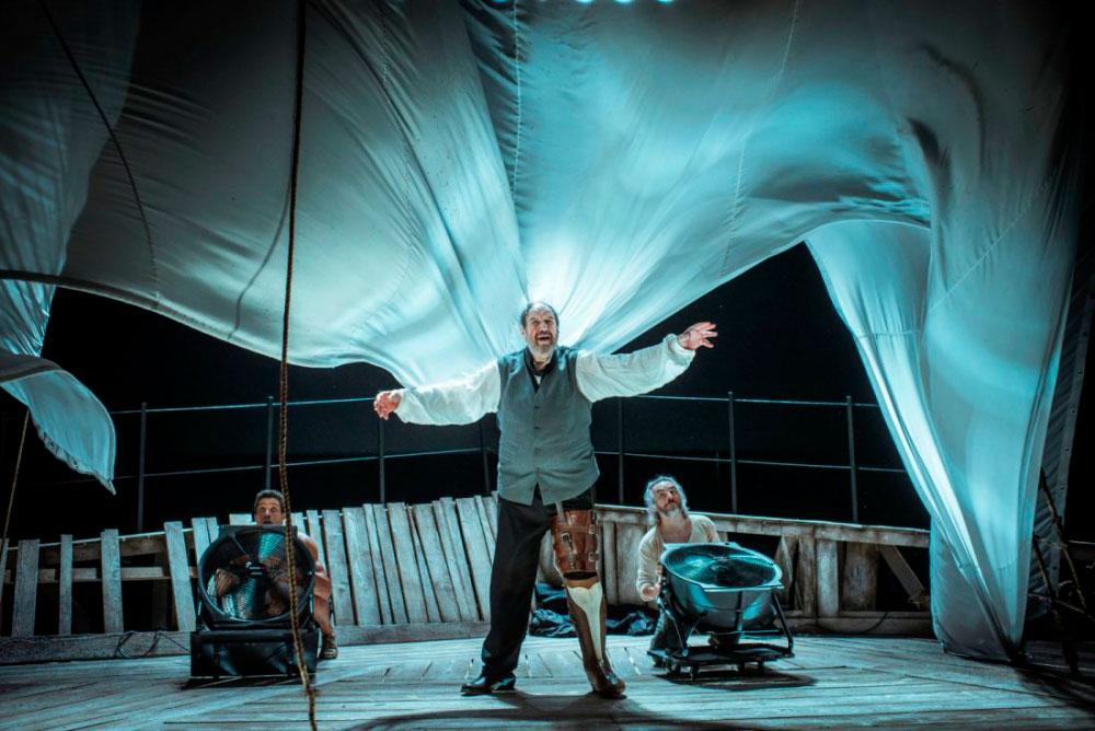 'Moby Dick' hace en Cuenca la antepenúltima parada de su gira
