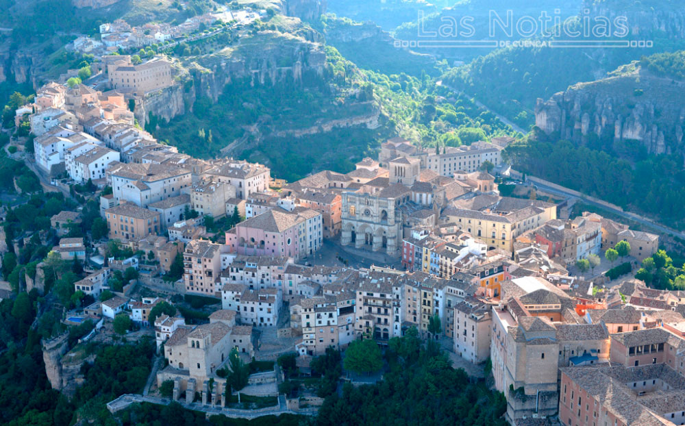 Cuenca, a vista de globo
