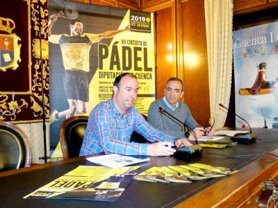 El VII Circuito de Pádel Diputación de Cuenca incorpora la categoría mixta