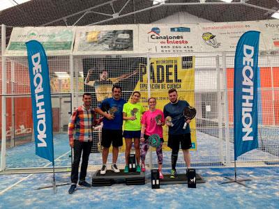 El Circuito de Pádel de Diputación comienza con éxito en Iniesta