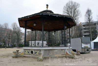 Visto bueno de la Junta a la reparación del mosaico del Parque de San Julián