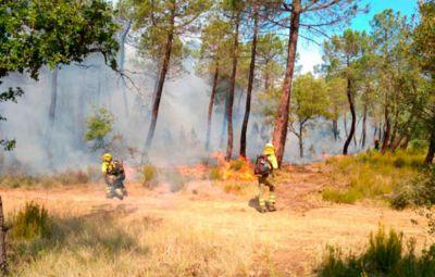 Cuenca seguirá este sábado con alerta por alto riesgo de incendios