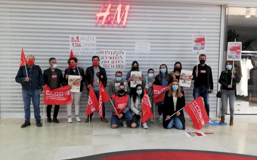Paro total de las trabajadoras de H&M en Cuenca contra los cierres y despidos