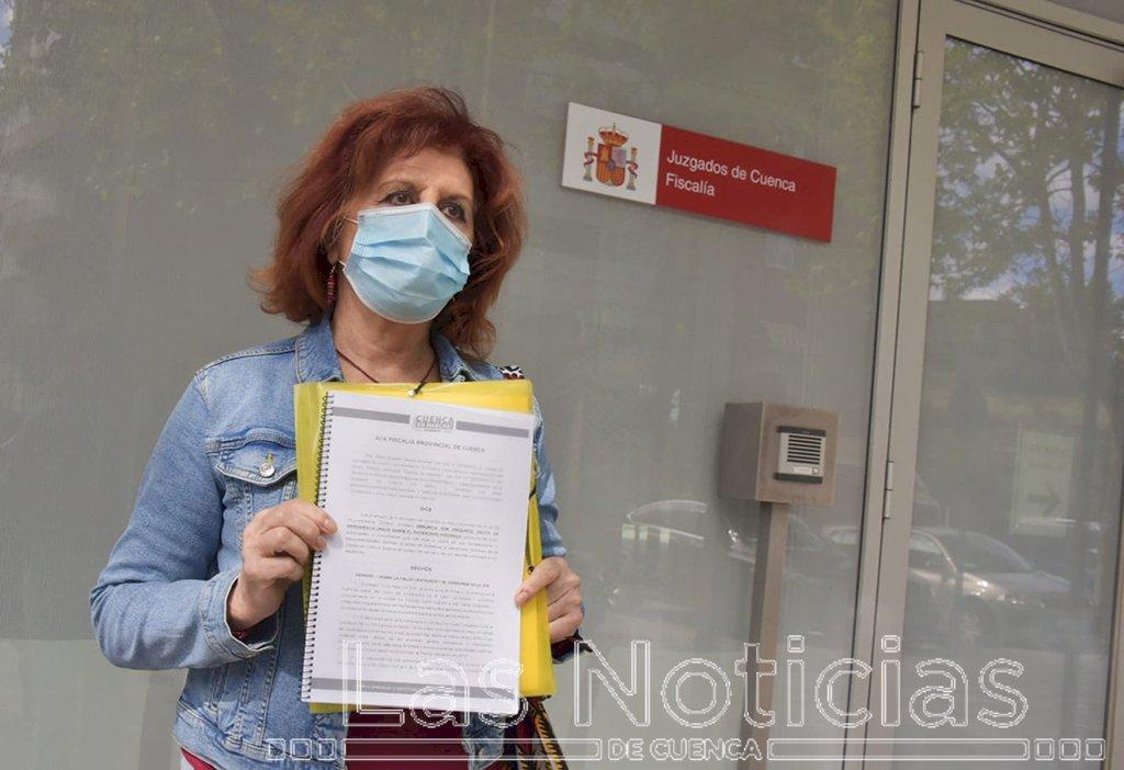 Cuenca, En Marcha! presenta ante la Fiscalía la denuncia por el derrumbe de Canónigos