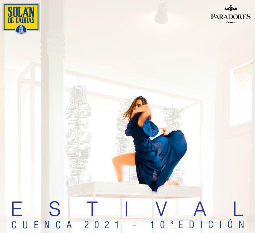 La bailarina María José Domínguez protagoniza el cartel de Estival Cuenca 2021