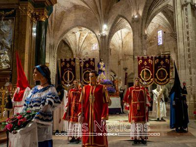 3.500 personas han visitado ya la exposición de la Semana Santa de España