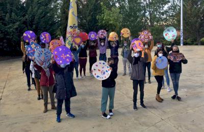 La plaza Taiyo acoge la 'gran fiesta del círculo'
