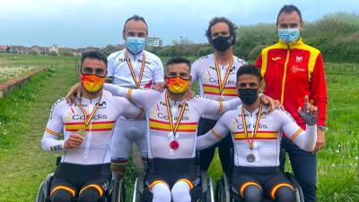 Luis Miguel García-Marquina se cuelga la plata en la Copa del Mundo de Ciclismo Adaptado