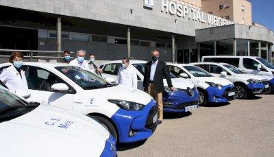 La Gerencia del Área Integrada de Cuenca renueva su flota de vehículos