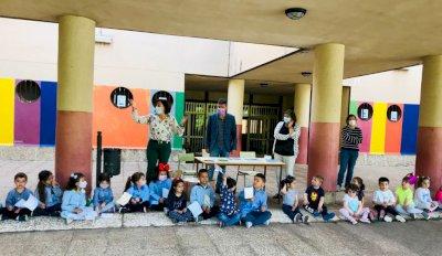 La Diputación celebra el Día de la Biodiversidad en los colegios Federico Muelas y El Carmen
