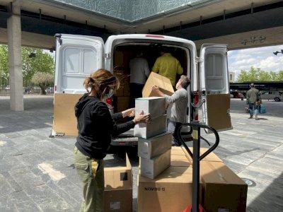 Enviados más de de 230.000 artículos de protección a los centros sanitarios esta semana