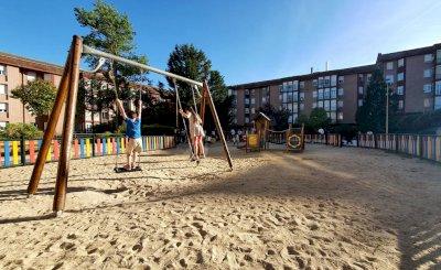 Este mes finaliza el arreglo de las primeras 11 áreas infantiles de la capital