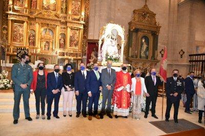 La Virgen de Rus ya está en su santuario
